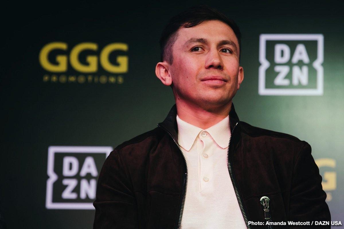Brandon Adams Gennady Golovkin Boxing News