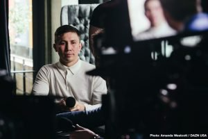 """Gennady Golovkin -  It's a whole new ballgame for boxing's pound-for-pound superstar attraction GENNADY """"GGG"""" GOLOVKIN!  Golovkin (38-1-1, 34 KOs), from Karaganda, Kazakhstan, brings his Big Drama Show back to the """"Mecca of Boxing"""" -- Madison Square Garden for the first time in over two years in his eagerly-awaited DAZN debut on Saturday, June 8.  Golovkin, whose resume includes a record 20 consecutive middleweight title defenses (18 by way of knockout), has consistently drawn packed houses to the five previous events he has headlined at The Garden, dating back to 2013.  He will rumble with undefeated Top-10 contender and Kronk Gym alumnusSTEVE ROLLS (19-0, 10 KOs), from Toronto, Canada, in a battle, scheduled for 12 rounds, at a maximum weight of 164 lbs.  Golovkin vs. Rolls kicks off the exclusive six-fight, three-year global partnership between GGG Promotions and DAZN, the world's fastest-growing sports streaming platform."""