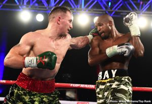 Ray Robinson - Welterweight contender, Ray Robinson believes that he should have deserved the decision in his bout with WBO number-one ranked Egidijus Kavaliauskas in a bout that was seen live on ESPN this past Saturday at 2300 Arena in Philadelphia.