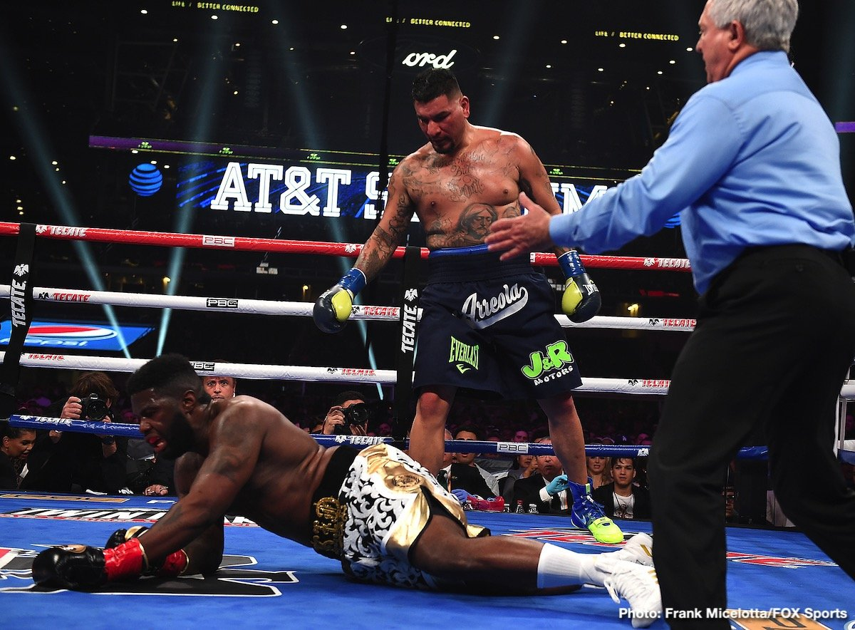 Chris Arreola Jean Pierre Augustin Boxing News Boxing Results