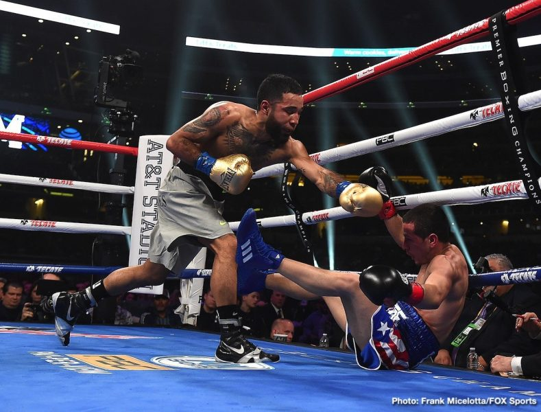 David Benavidez J'Leon Love Luis Nery Boxing News Boxing Results Top Stories Boxing