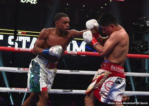 Errol Spence - As the career of Floyd Mayweather Jr. slowly came to a close, the collective attention of the sport shifted. From an emerging group of young heavyweights to a crop of offensively gifted lightweights, suddenly, a quest to be labeled the best had ensued. As with all things in life, time has a way of revealing answers that often go missing to the naked eye. Several talents deemed to be elite were proven incomplete. From Andy Ruiz's stunning upset of Anthony Joshua to Manny Pacquiao's incredible effort over Keith Thurman, few of these careers evolved the way we believed they would.