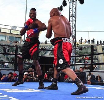 Amir Mansour Efe Ajagba Boxing News Boxing Results