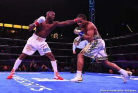 Amir Mansour, Efe Ajagba, Shawn Porter, Yordenis Ugas - WBC Welterweight World Champion Shawn Porter retained his title with a close split-decision victory over Yordenis Ugas Saturday night in the main event of Premier Boxing Champions on FOX and FOX Deportes from Dignity Health Sports Park in Carson, California.