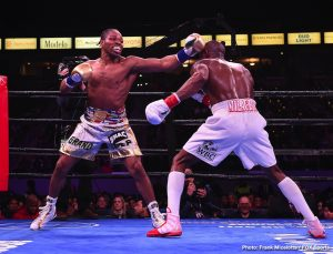 Efe Ajagba - WBC Welterweight World Champion Shawn Porter retained his title with a close split-decision victory over Yordenis Ugas Saturday night in the main event of Premier Boxing Champions on FOX and FOX Deportes from Dignity Health Sports Park in Carson, California.
