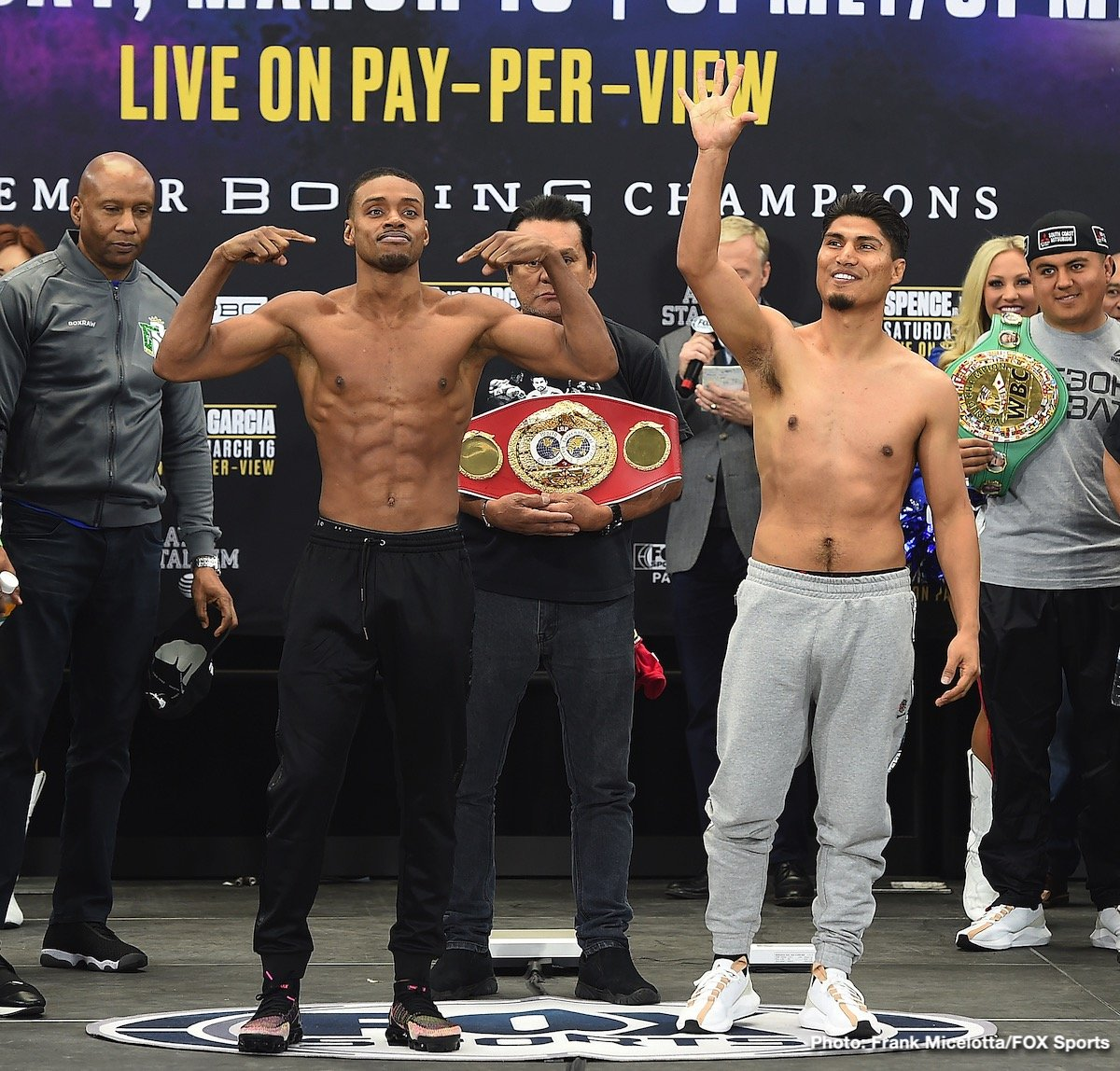 Errol Spence Jr. - Though he might not yet have finally, official retired for good, Floyd Mayweather's star has faded. Apart from fans asking whether or not the 42 year old great will return for another mega-bucks payday of a fight, or an exhibition, there isn't much talk about Mayweather any longer. Floyd did his thing, for a number of years at top, top level, but now fans are eager for another superstar.