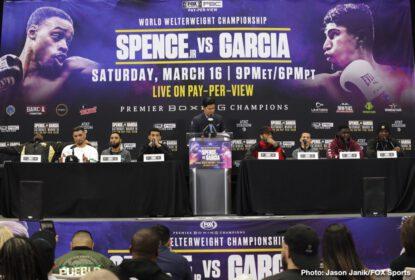Charles Martin, Chris Arreola, David Benavidez, Errol Spence Jr., J'Leon Love, Luis Nery, Mikey Garcia - Boxing News
