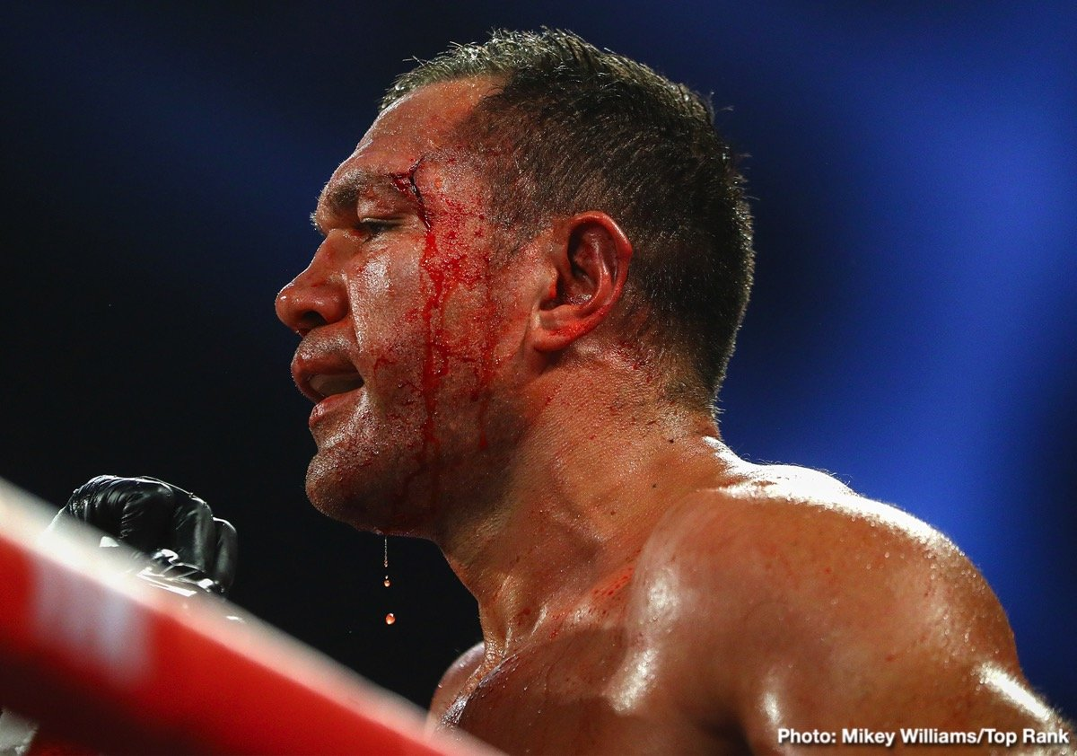 """Kubrat Pulev - The sport of professional boxing has almost certainly never seen anything quite like it. As fans may be aware, last weekend, after his stoppage win over a game Bogdan Dinu in which he suffered a pretty nasty cut eye, heavyweight contender Kubrat Pulev grabbed and kissed a female reporter; even """"groping her"""" in the opinion of some, the reporter included. Since then it has become apparent how very serious this issue is."""