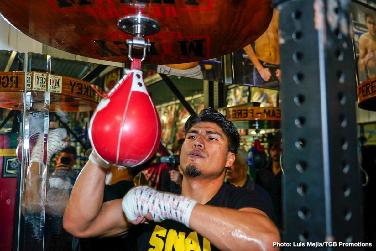 Mikey Garcia Boxing Interviews Boxing News