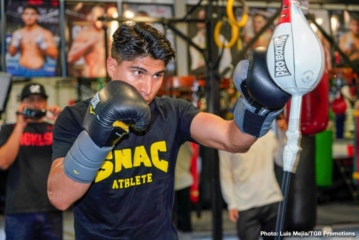 "Mikey Garcia - Very possibly the most intriguing fight of the year, one between two fine fighters with a combined 63-0 record, will take place this Saturday night in Arlington, Texas, as IBF welterweight champ Errol Spence defends against four-weight champion Mikey Garcia. Garcia is going for history while Spence is aiming to become, in his words, ""a superstar"" with a big win. The odds favour the naturally bigger man, but Garcia is incredibly confident he will pull off the upset."