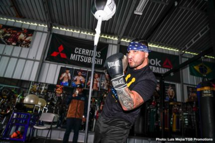 Chris Arreola, David Benavidez, Errol Spence Jr., Mikey Garcia - Boxing News