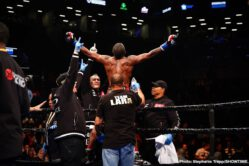 Brian Castano, Christian Hammer, Erislandy Lara, Luis Ortiz - In an exciting fight from start to finish, WBA 'regular' junior middleweight champion Brian Castano (15-0-1, 11 KOs) fought to a 12 round draw against former WBA Super World 154 lb champion Erislandy Lara (25-3-3, 14 KOs) on Saturday night on Premier Boxing Champions on SHOWTIME at the Barclays Center in Brooklyn, New York.