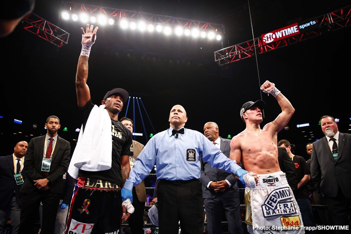 Brian Castano, Erislandy Lara - Erislandy Lara Santoya (25-3-3) boxed Brian Carlos Castano  (15-0-1) to a puzzling draw last Saturday at the Barclays center, Brooklyn. Both boxers disagreed along with fans and observers. It may be time to bring up a painful issue that affects not only Eryslandy Lara but seems to subvert boxing as whole. I cannot think of any high-profile draw in MMA or even unpopular decisions for that matter.