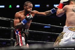 Brian Castano, Erislandy Lara - Former 154-pound world champion Erislandy Lara and WBA Super Welterweight Champion Brian Castaño fought to a highly competitive split-draw Saturday at Barclays Center, the home of BROOKLYN BOXING™, in an event presented by Premier Boxing Champions. With the draw, Castaño retains the WBA belt in what was the toughest test of his career against the longtime top 154-pounder in Lara. The judges scored the fight 115-113 (Castaño), 115-113 (Lara) and 114-114.