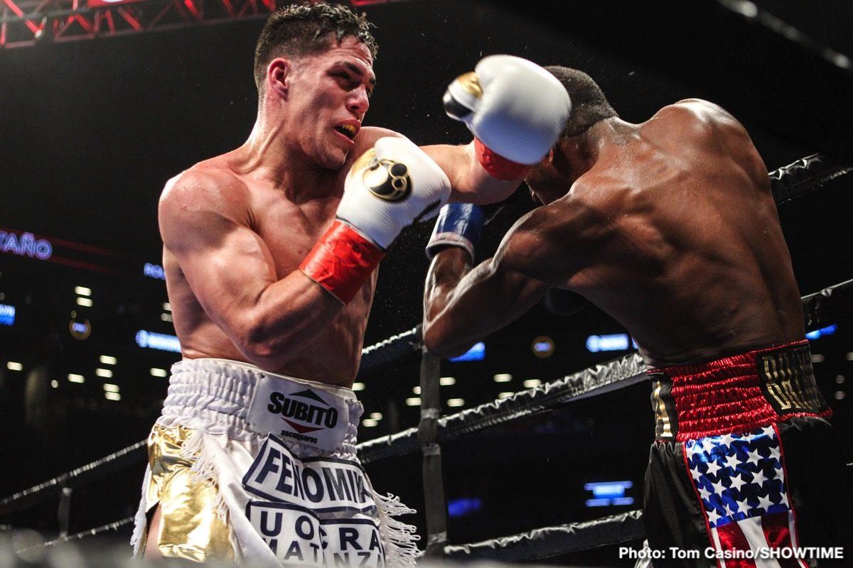 Brian Carlos Castaño Wale Omotoso Boxing News