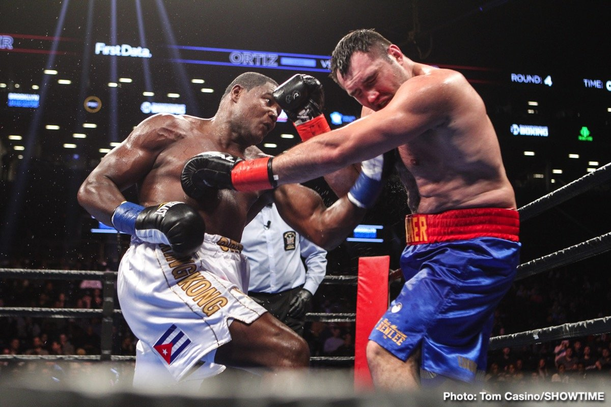 Christian Hammer, Eduardo Ramirez, Luis Ortiz - Heavyweight slugger Luis Ortiz (31-1, 26 KOs) earned a unanimous decision victory over a game Christian Hammer (24-6, 14 KOs). Although the judges scored the fight 100-90 and 99-91 twice, both men fought through bloody noses at different points in the fight and both were stunned in a back-and-forth second round.