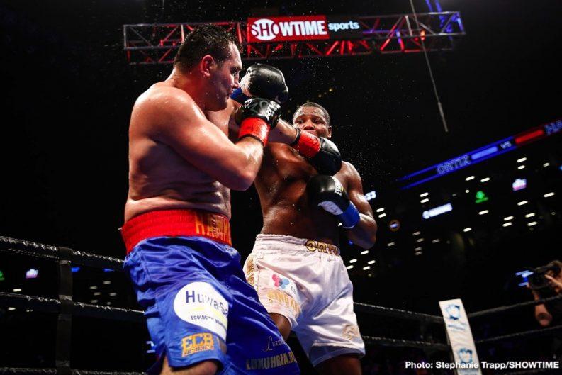 Brian Castano Christian Hammer Erislandy Lara Luis Ortiz Boxing News Boxing Results