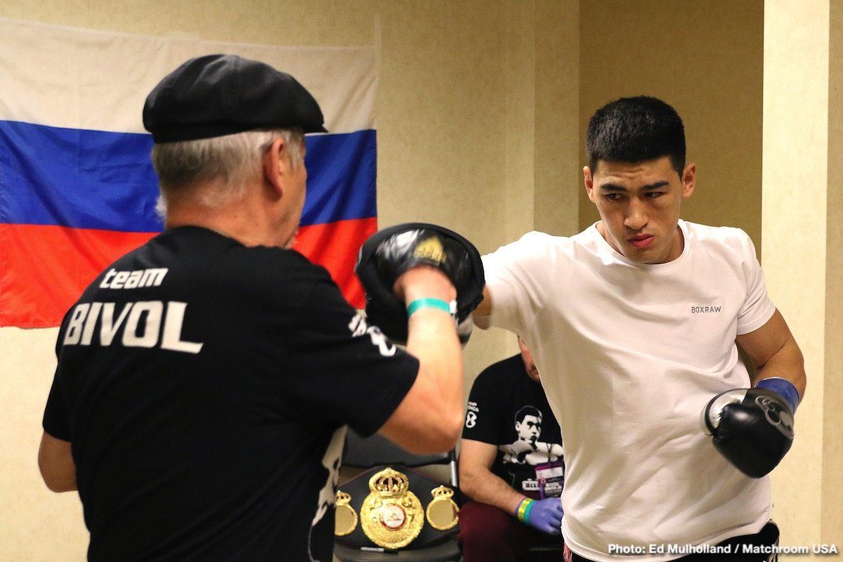 Canelo Alvarez, Dimitry Bivol, Eddie Hearn - Boxing News