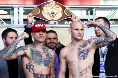 Demetrius Andrade, Gabriel Rosado, Maciej Sulecki - The Middleweight clash between Gabriel Rosado and Maciej Sulecki on Friday night (March 15) at the Liacouras Center, Philadelphia live on DAZN in the US and Sky Sports in the UK, has extra spice added to it as promoter Eddie Hearn announced that the winner is likely to face WBO kingpin Demetrius Andrade in June.