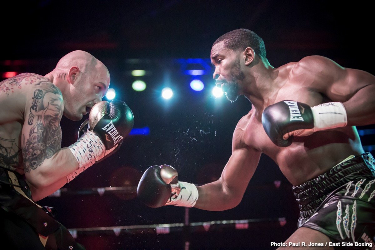 - By Paul R Jones!  |  Photos  © Paul R. Jones - Hanover, MD – It took Demond 'D'BestAtIt' Nicholson (21-3-1, 20 KOs) less than two minutes to steamroll journeyman Jessie 'Beast' Nicklow (27-10-3, 9 KOs) on Friday night at the Maryland Live! Casino • Hotel in Maryland.
