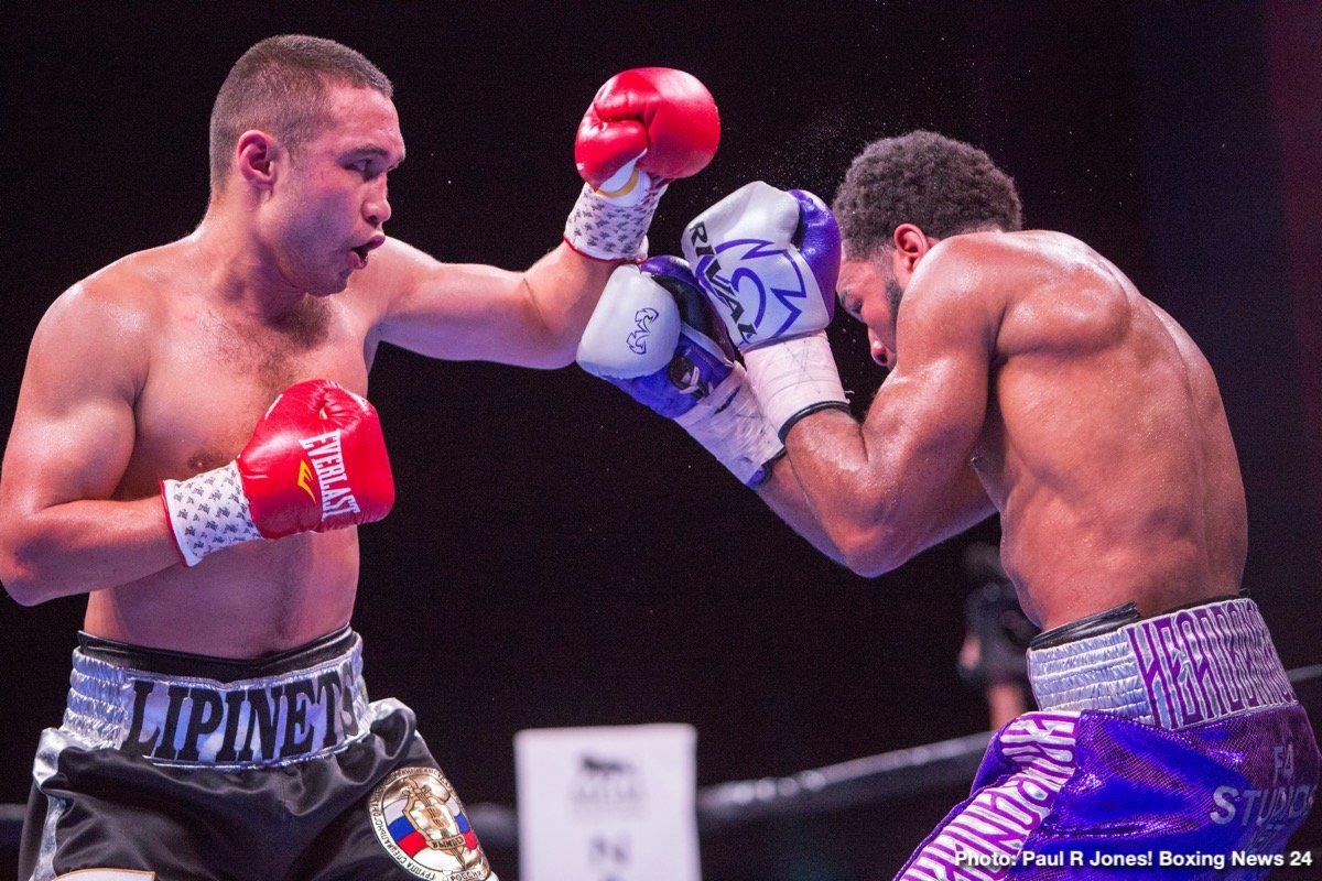 Former world champion Sergey Lipinets (15-1, 11 KOs) stopped former two-division champion Lamont Peterson (35-5-1, 17 KOs)in round 10 Sunday night in an action-packed welterweight showdown that headlined Premier Boxing Champions on FS1 and FOX Deportes from MGM National Harbor in Maryland.