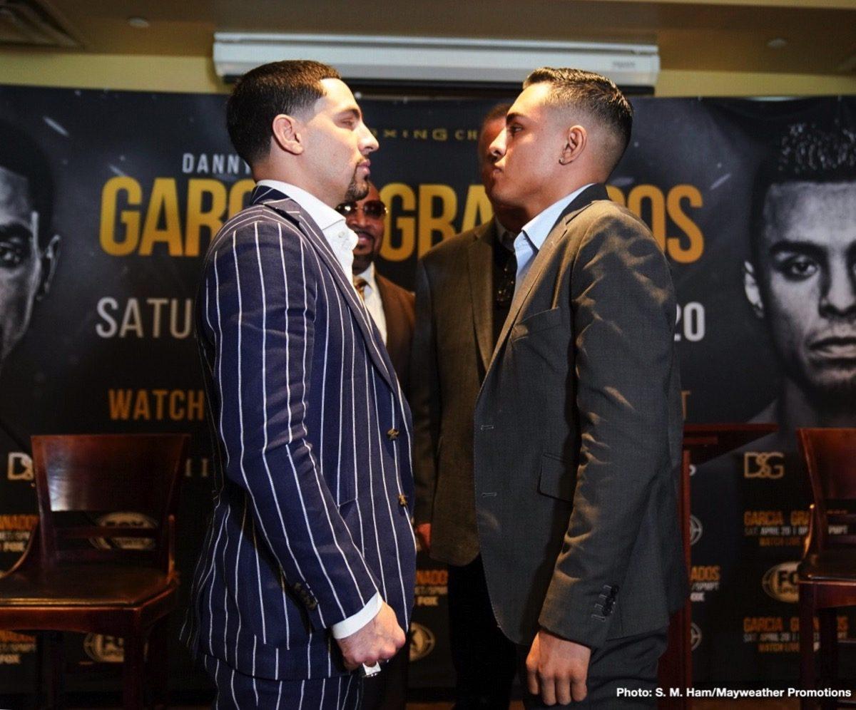 Adrian Granados Danny Garcia Boxing News