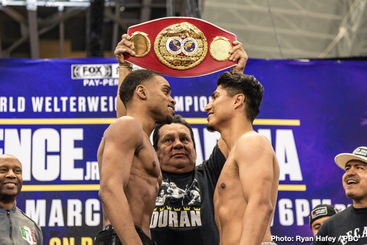 Errol Spence Jr. Fox Sports PPV Mikey Garcia Boxing News Top Stories Boxing
