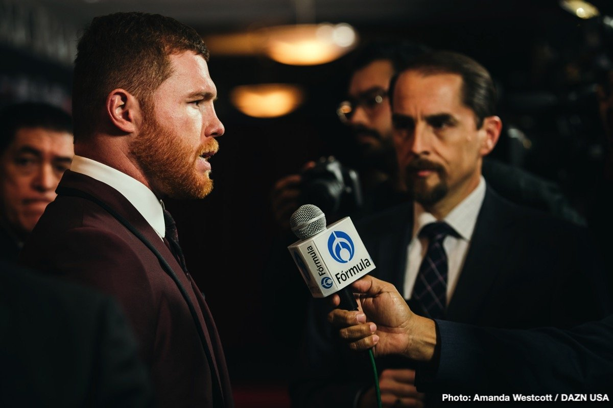 """Daniel Jacobs, DAZN, Gennady Golovkin, Saul """"Canelo"""" Alvarez - The heavyweight division aside, the biggest fight that can be made in all of boxing this year is a third battle between middleweight rivals Canelo Alvarez and Gennady Golovkin. Whether you feel Triple-G won both fights (I'll raise my hand here), you think Canelo deserved the verdict in both bouts, or you think the results that stand were, with a draw and a close Canelo victory, fair and above board, a third go between these two is needed."""