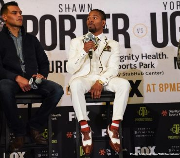 Shawn Porter Yordenis Ugas Boxing News