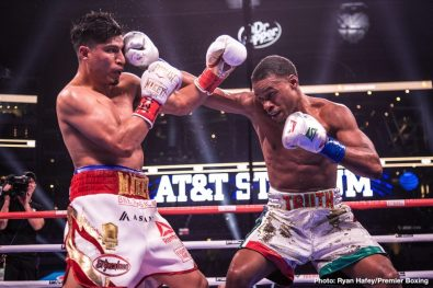 Errol Spence Jr. Mikey Garcia Boxing News Boxing Results Top Stories Boxing