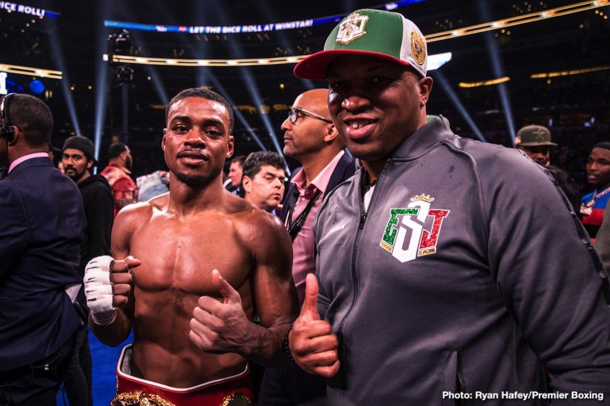 Errol Spence Jr. - Errol Spence is clearly one of the hottest fighters on the scene right now. Seemingly closing in on stardom, of becoming as he puts it himself, 'the face of boxing,' the reigning and unbeaten IBF welterweight champ has fight fans all excited for his next fight. Looking quite superb, flawless even, against the too-small Mikey Garcia, Spence must pick on someone his own size in his next fight.