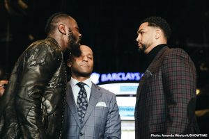 Dominic Breazeale - Though fight fans are not exactly at anything that could be described as a fever pitch ahead of the May 18 fight between WBC heavyweight champ Deontay Wilder and challenger Dominic Breazeale, it cannot be denied how there is a genuine element of bad blood attached to the fight; nor can it be denied that things, words, got quite nasty at the official presser to announce the fight last week.