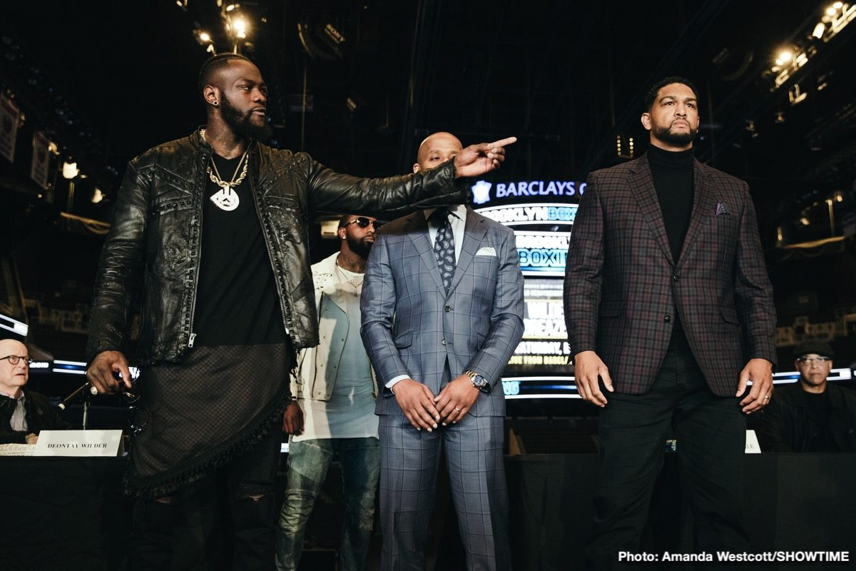 Deontay Wilder Dominic Breazeale Boxing News Top Stories Boxing