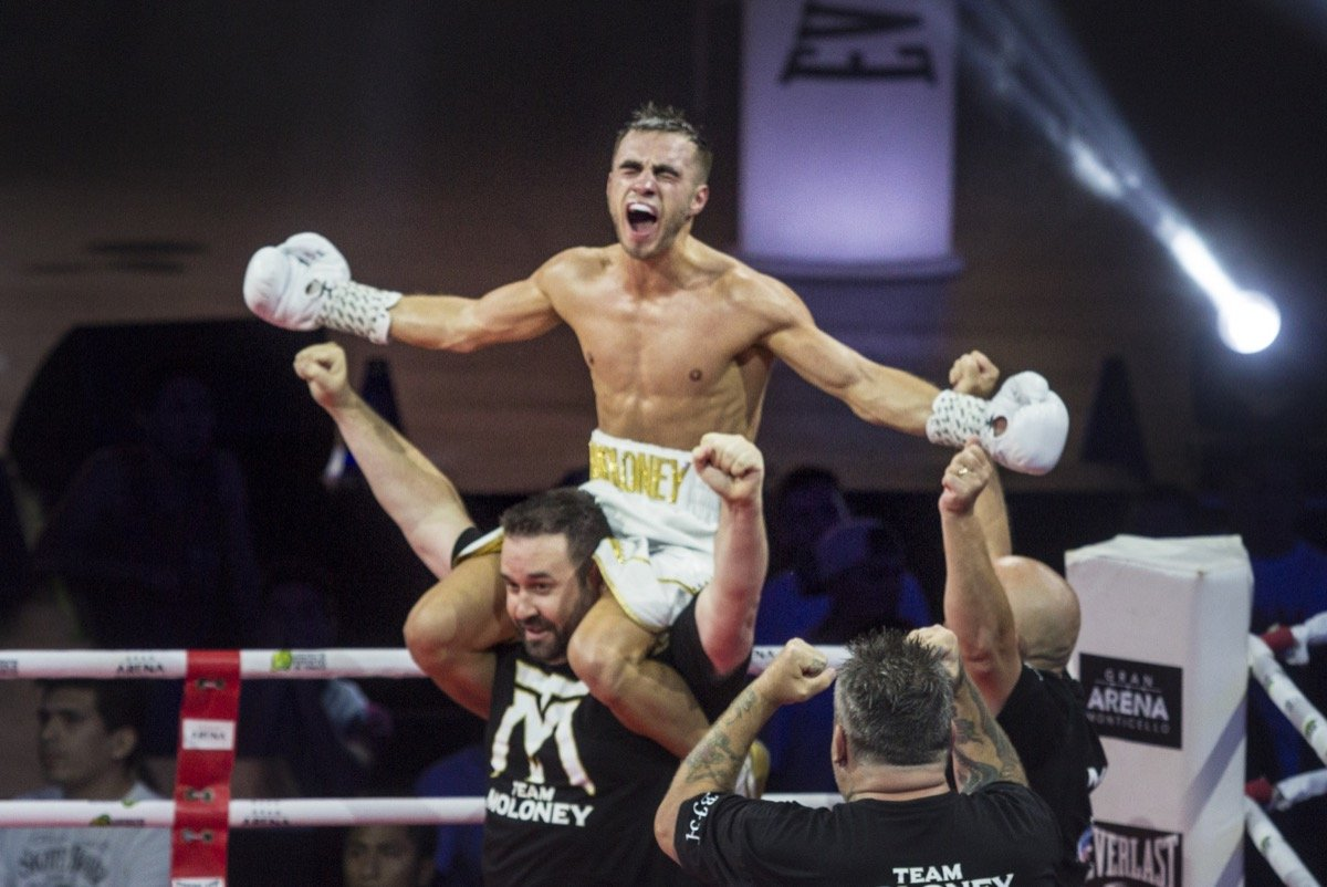 Andrew Moloney - Andrew Moloney discusses world title eliminator victory in Chile, Kal Yafai and brother Jason Moloney