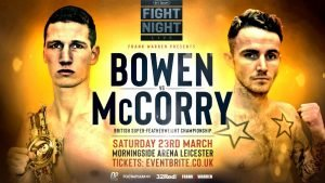 Lyon Woodstock - LYON WOODSTOCK insists he would jump at the chance to fight British super-featherweight champion Sam Bowen if he was given enough notice.