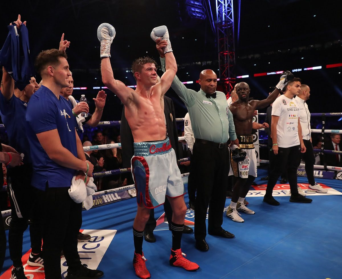 Luke Campbell British Boxing Press Room