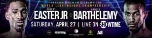 Rances Barthelemy - Welterweights Terrel Williams and Justin DeLoach will square-off in a 10-round attraction, while former world champion Jezzrel Corrales faces Richard Zamora in an eight-round lightweight showdown as part of non-televised undercard action Saturday, April 27 from The Chelsea inside of The Cosmopolitan of Las Vegas and presented by Premier Boxing Champions.