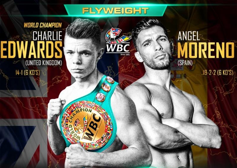 Image result for Charlie Edwards vs Angel Moreno Live