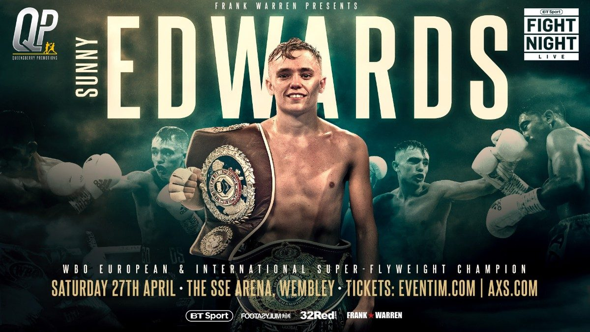 Sunny Edwards British Boxing Press Room