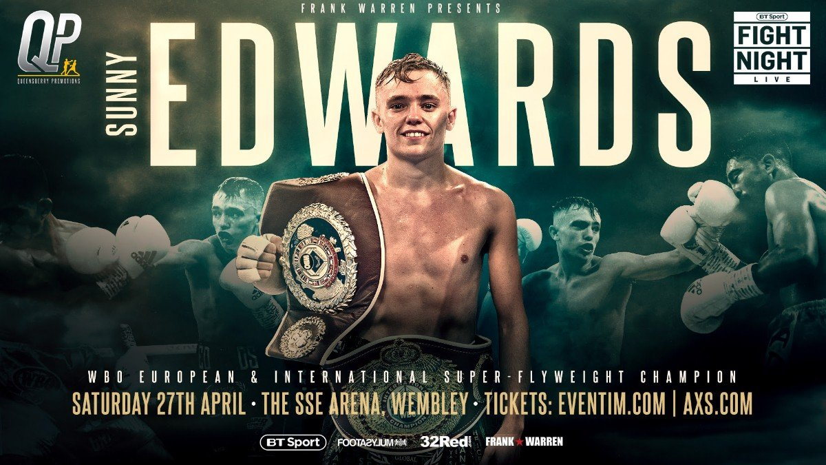 Sunny Edwards - Although reigning as WBO European & International champion at super flyweight, 10-0 Croydon man Sunny Edwards is very open to boxing at the weight division below, like his brother WBC World Champion, Charlie.