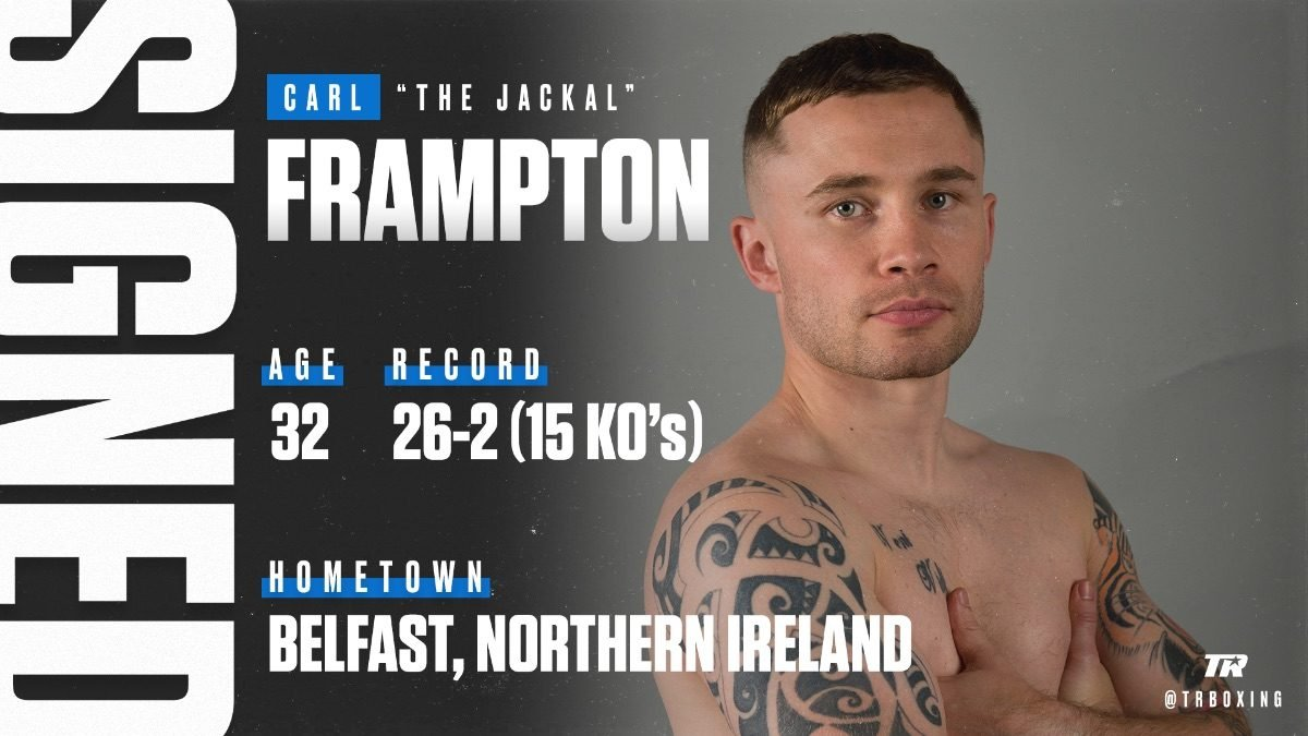 Carl Frampton Press Room