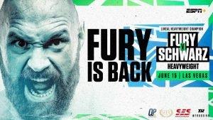 Tom Schwarz, Tyson Fury - ·         Fury v Schwarz only available on BT Sport Box Office