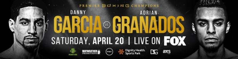 Adrian Granados, Brandon Figueroa, Danny Garcia - Unbeaten super bantamweight contender Brandon Figueroa is on a rapid ascent in the 122-pound division and shared his thoughts on his rise and his matchup against Venezuela's Yonfrez Parejo that takes place Saturday, April 20 in Premier Boxing Champions on FOX and FOX Deportes action from Dignity Health Sports Park in Carson, California.