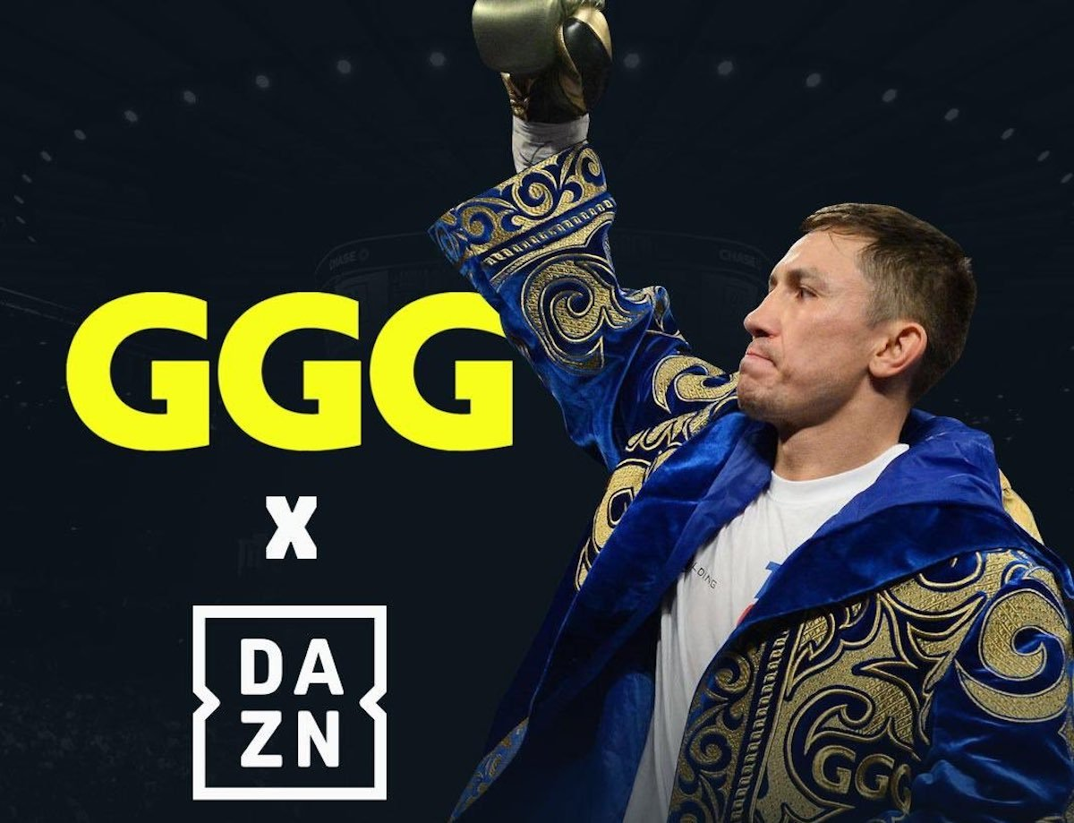 Gennady Golovkin - As all fight fans surely know by now, former world middleweight king and pound-for-pounder Gennady Golovkin has signed a big, six-fight deal with DAZN – and an official presser in Los Angeles is set for this coming Monday. We will hopefully find out more regarding the deal then – most importantly for now, who the man in the opposite corner of the ring will be, and where the fight will be held, when GGG makes his DAZN debut in June.