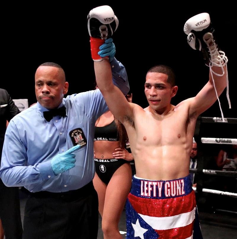 - Fists of Legends is proud to announce the 2019 debut of undefeated junior welterweight, Mathew Gonzalez (7-0, 4 KOs) who will return to the ring this Friday, March 8th at Club Amazura in Queens, New York.