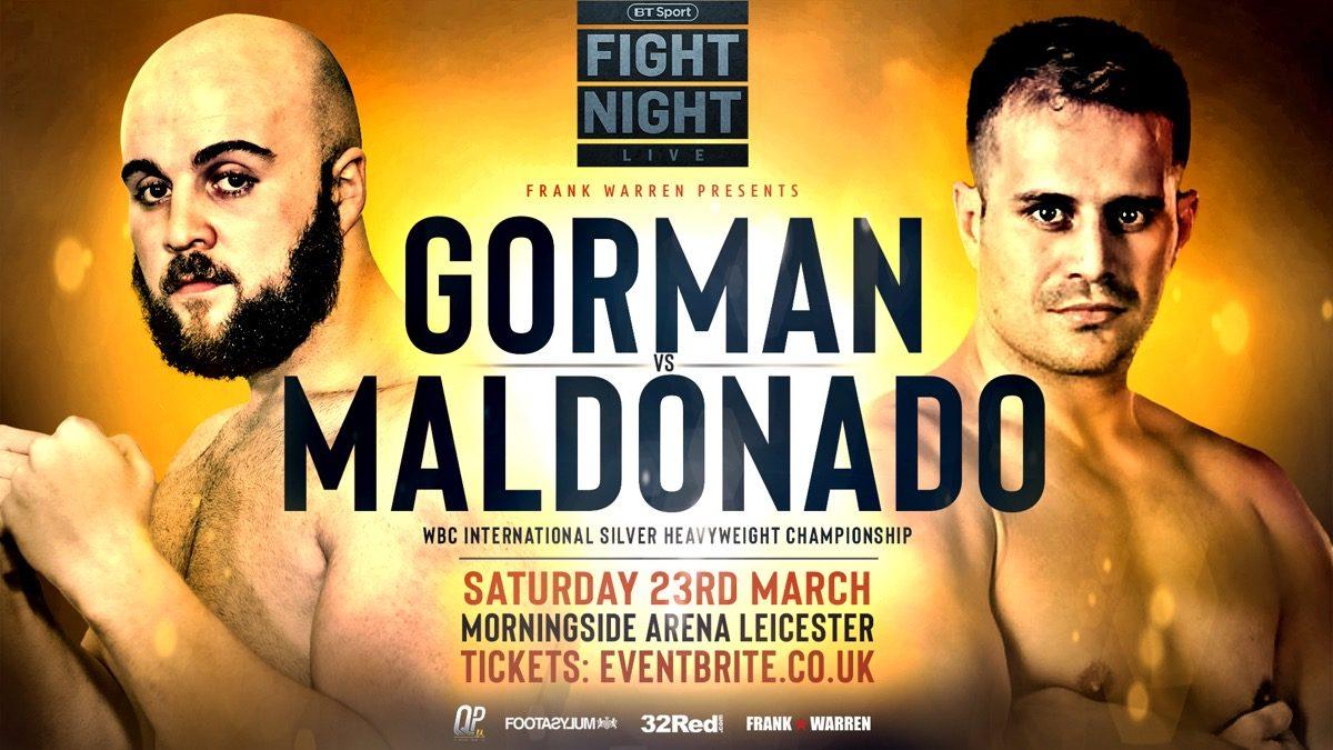 Nathan Gorman British Boxing Press Room