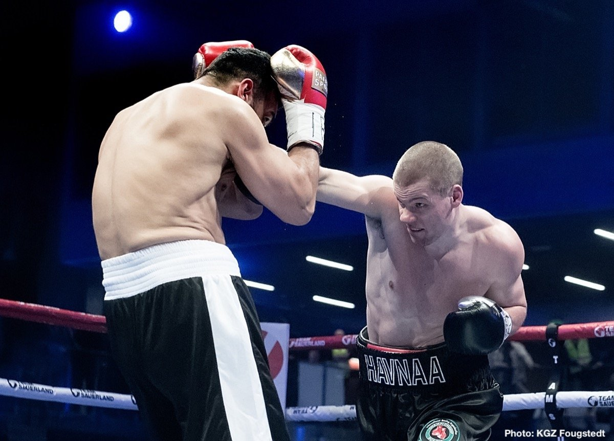 Kai Robin Havnaa - 'KING' KAI ROBIN HAVNAA CLAIMS IBO TITLE - 'King' Kai Robin Havnaa (14-0, 12 KOs) claimed the IBO International Cruiserweight title with a third-round stoppage victory over Rad 'Thunder' Rashid (16-5, 13 KOs) last night at the SØR Amfi in Arendal, Norway.