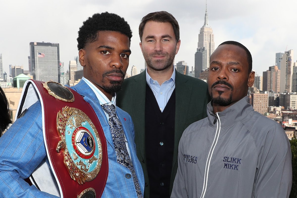 Maurice Hooker, Mikkel Lespierre - Maurice Hooker hopes to land a big homecoming fight in Dallas next as he defends his WBO World Super-Lightweight title for the second time against Mikkel LesPierre at the Turning Stone Resort Casino in Verona, New York on Saturday March 9, live on DAZN in the US and on Sky Sports in the UK.