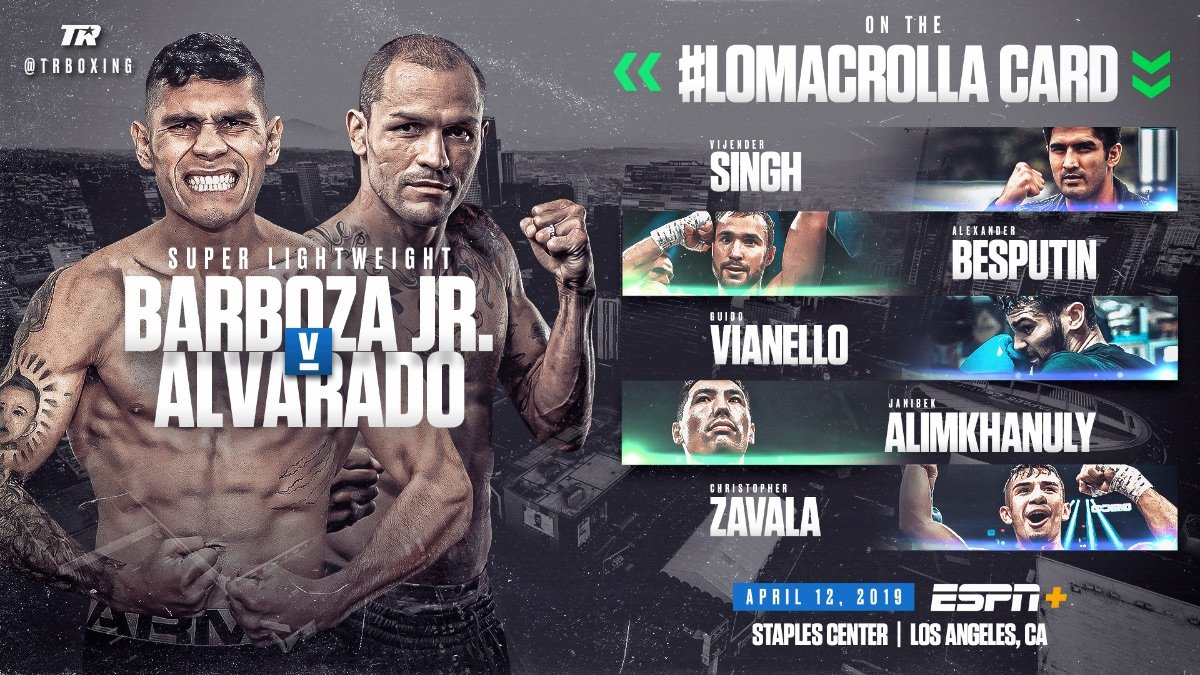 Anthony Crolla, Vasiliy Lomachenko, Vijender Singh - Indian sensation Vijender Singh, Alexander Besputin, and Janibek Alimkhanuly also in action - Tickets starting at $51.75 available now at AXS.com.
