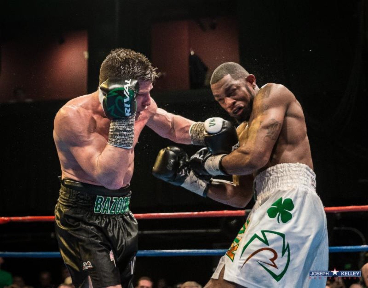 """Gary """"Spike"""" O'Sullivan, Mark DeLuca - A raucous sold out crowd celebrated St. Patrick's Day with Murphys Boxing's 4th Annual St. Patrick's Day Clash last night at the House of Blues in Boston."""